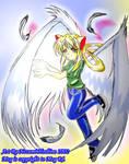Angel has arrived by AzureRat