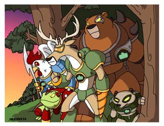 Battle Beasts by PanzerBanana