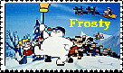 Frosty and the Gang Stamp by faery-dustgirl