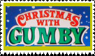 Xmas With Gumby Stamp by faery-dustgirl