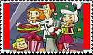 Jetsons Christmas Stamp by faery-dustgirl