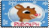 Rudolph Logo Stamp by faery-dustgirl
