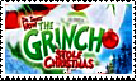 Grinch Logo Stamp by faery-dustgirl