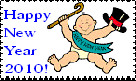 Happy New Year Stamp3 by faery-dustgirl