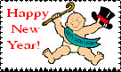 Happy New Year Stamp4 by faery-dustgirl