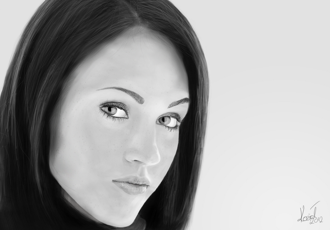 Drawing Of Megan Fox - Viewing Gallery Mila Kunis Net