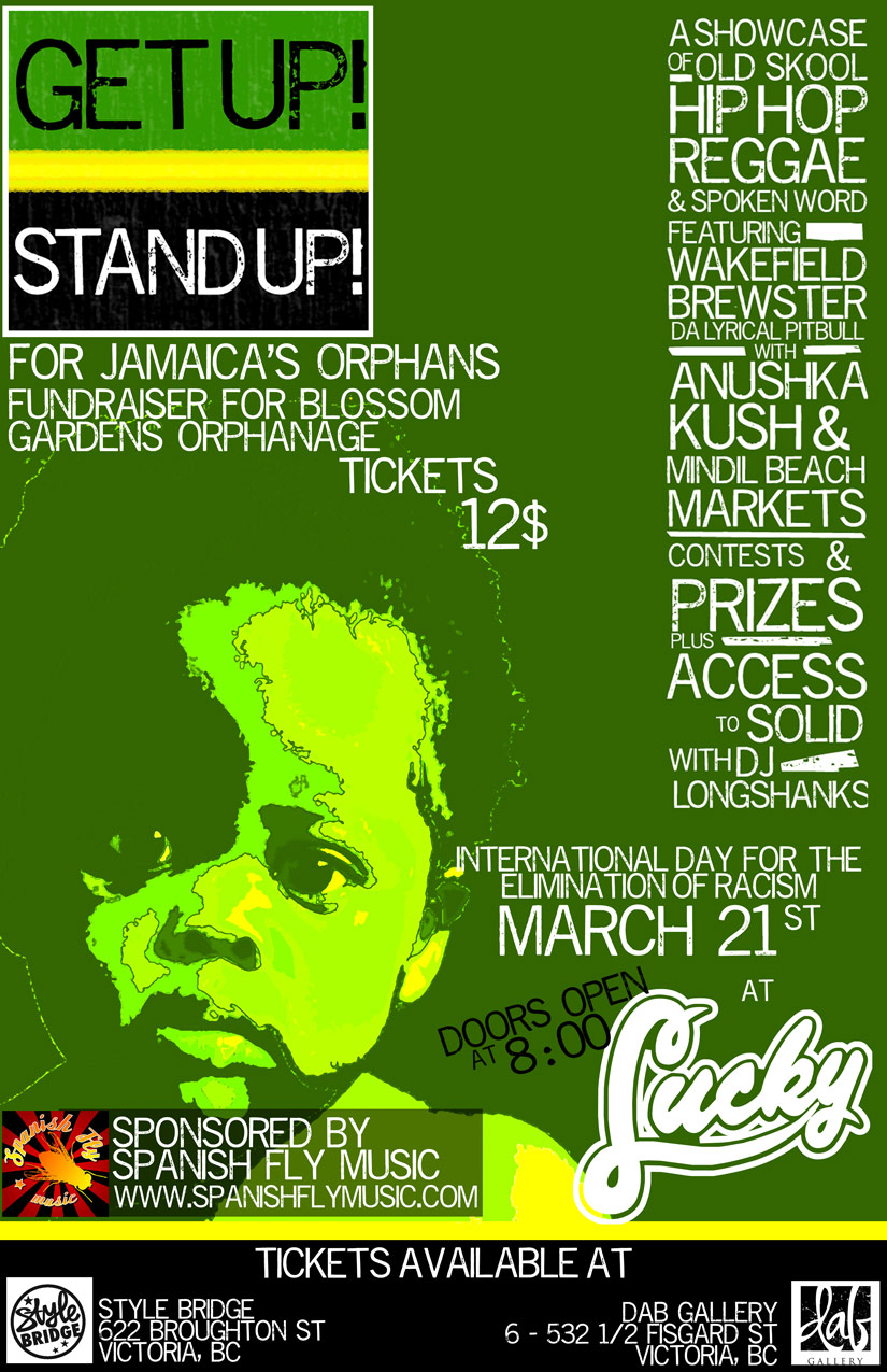 Get Up Stand Up Poster