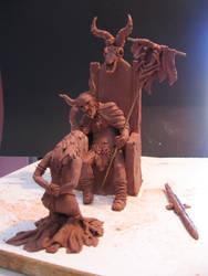 Judgement maquette 2 by DaveRichardsonArt