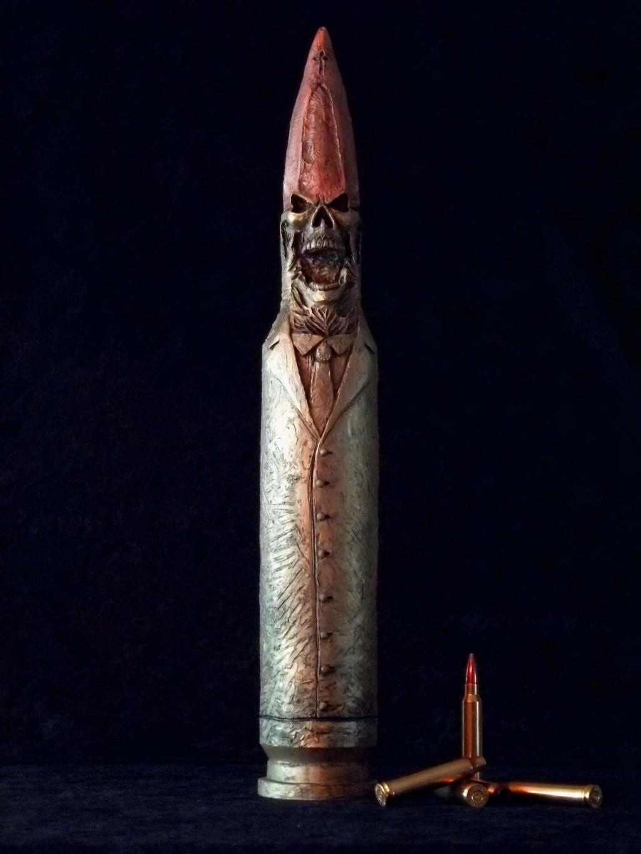 The Art Of War Is A Hollow-Point by DaveRichardsonArt