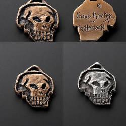 Clive Barker Skull Medallion