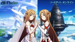 Asuna Yuki Two Worlds