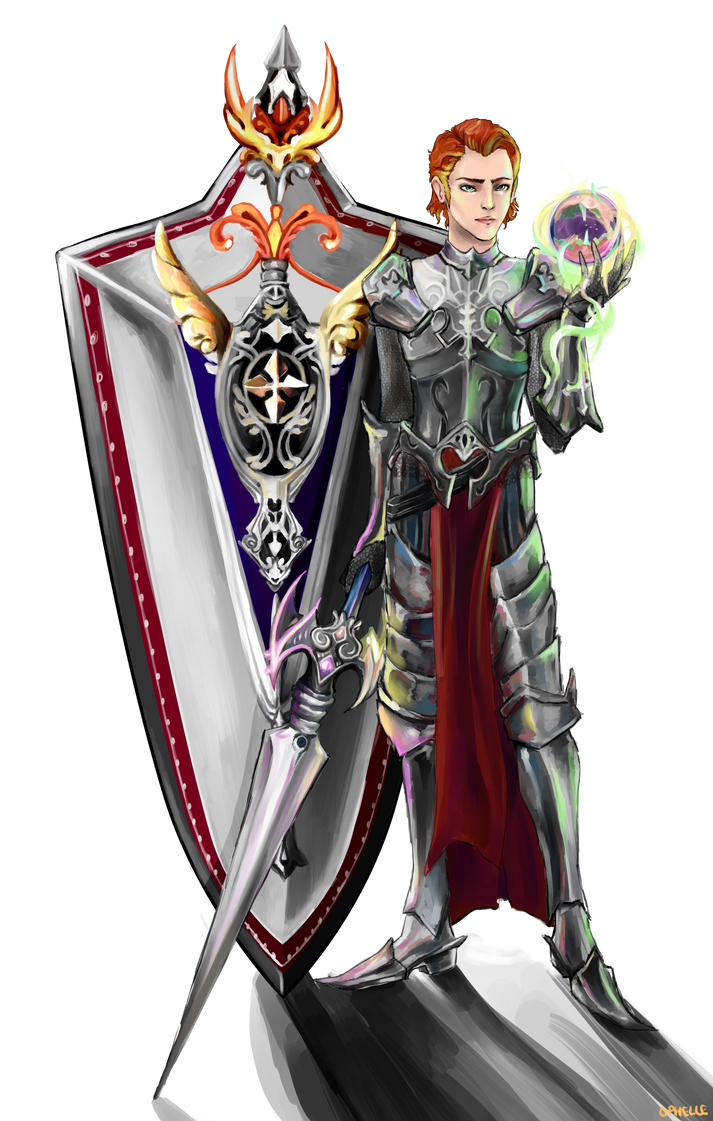 Lord Nezekan - Aion commission by Pixies-poke