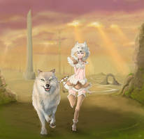 The Wolf Messenger