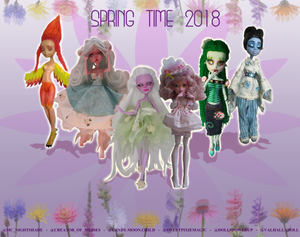 Spring doll collaboration