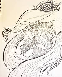 Queen of the Sea - Redraw by espiechen