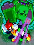 Virusaur Rex - Fanmade Boss