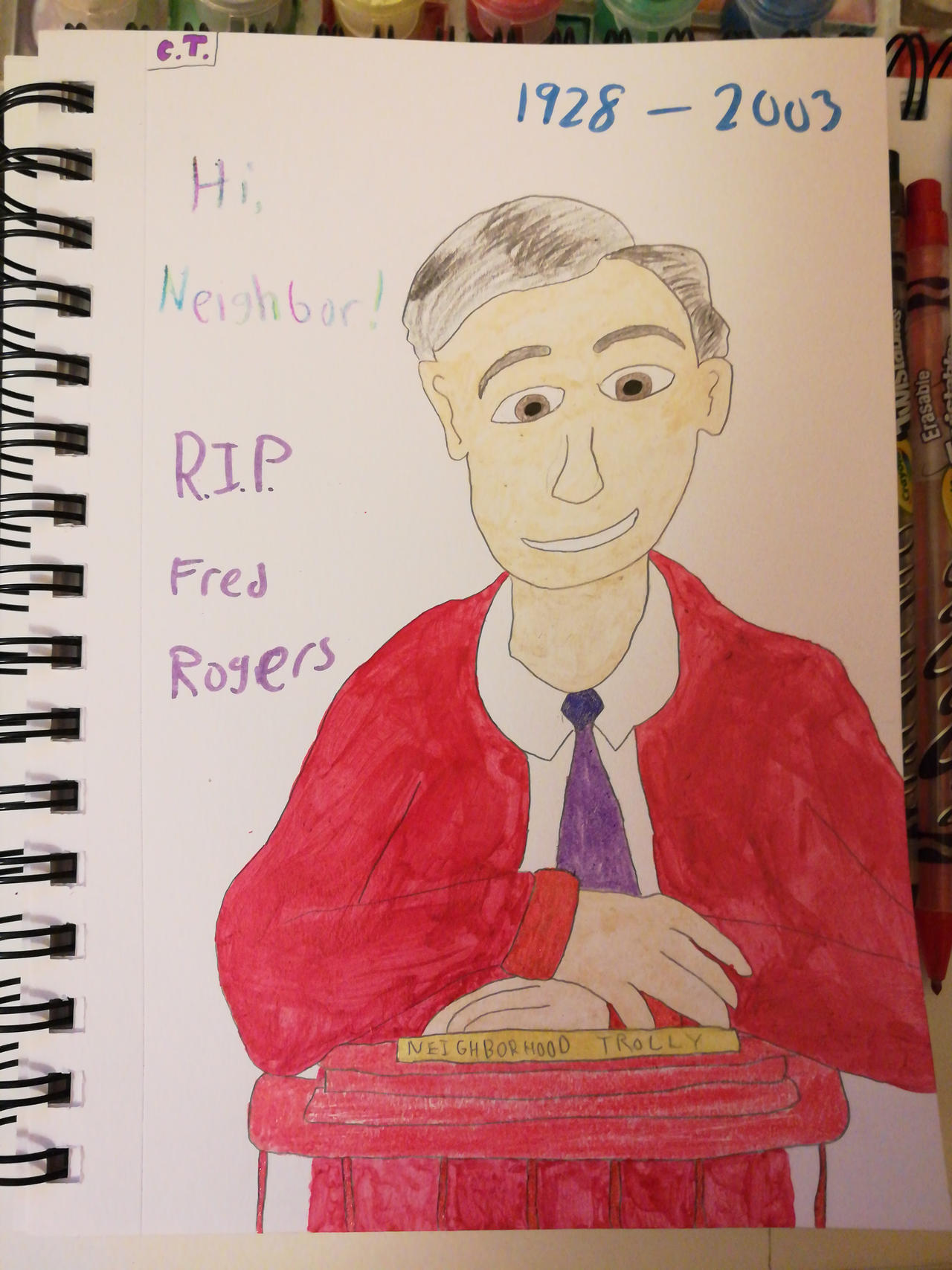 Happy Birthday Mr Rogers By Mlpquang20 C On Deviantart