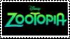 Zootopia Logo Stamp