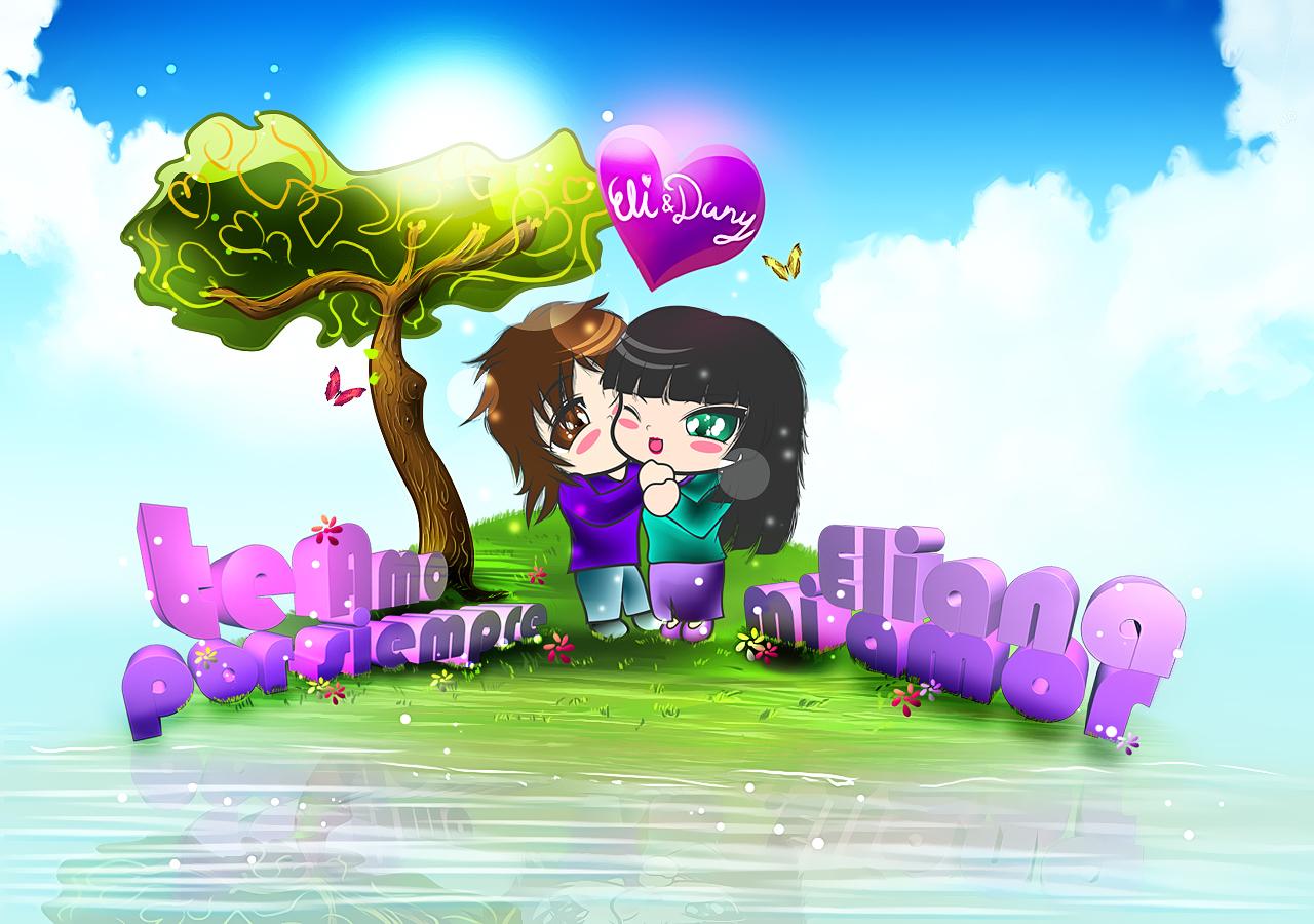 Te Amo mi prometida y esposa mi amor Eli y Dany by Atsuko-09