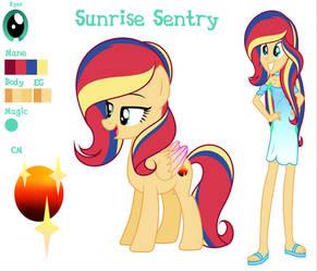 MLPEG [Next Gen] Sunrise Sentry Bio by AfterglowSentry