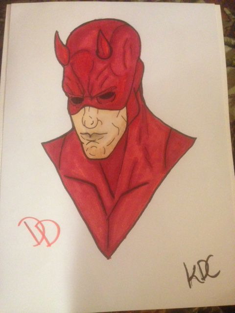 Dare-Devil Portrait by lunawolf33
