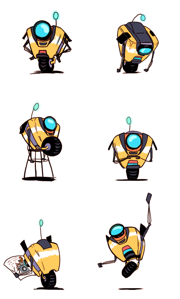 He's such a lovely robot by Idonthaveanynickname