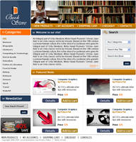 E-commerce template by palneera
