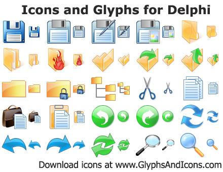 иконки для делфи: