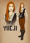 DnD Character Commission - Hulijing Bard by muzaffar-s