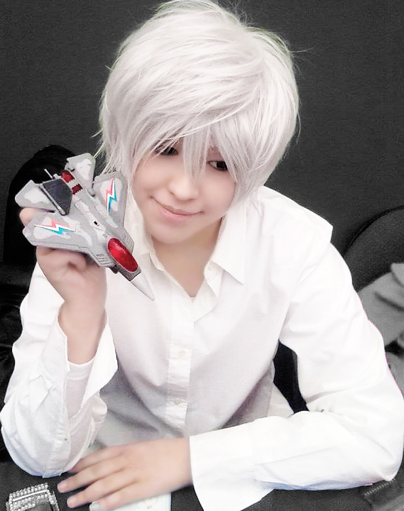 79 best images about White/Silver/Gray Hair Anime Girls ... |Near Death Note Cosplay