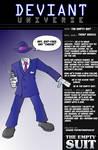 Deviant Universe- Empty Suit