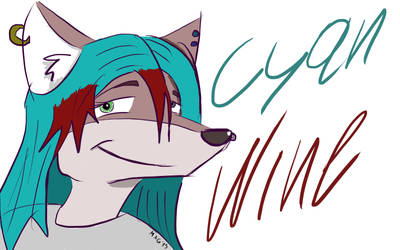 Cyan Wine by MG0815