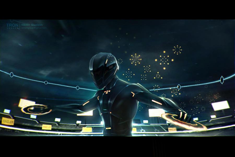 Tron: legacy _Rinzler by cloaka