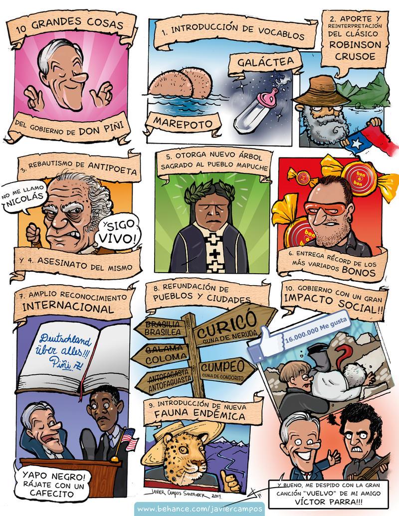 10 Grandes Cosas del Gobierno de don Pini by valhadar