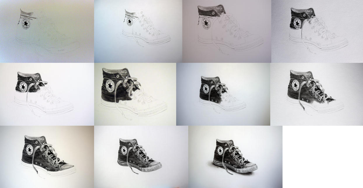 Worn-Out Converse - In The Making by rotten-ralph