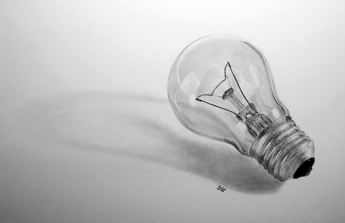 Light Bulb by rotten-ralph