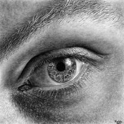 Eye Drawing III by rotten-ralph
