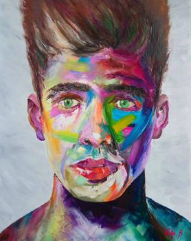 Male Portrait Painting I