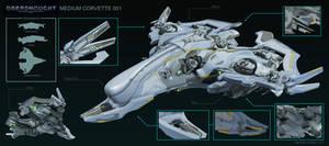Dreadnought Medium Corvette Ship Skin