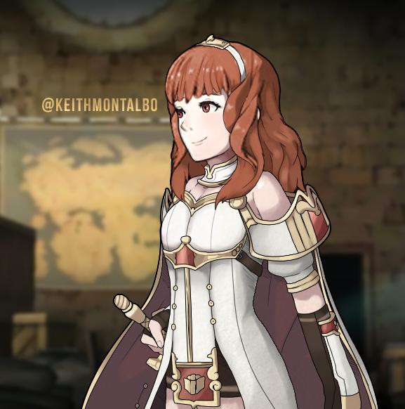Princess Celica by Ravenide