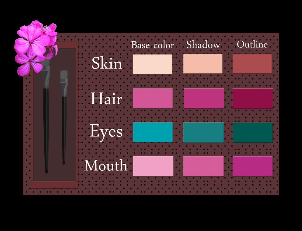 Tecna - Colour Palette by Efyme