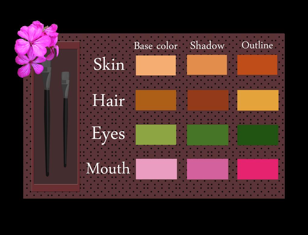 Flora - Color Palette by Efyme