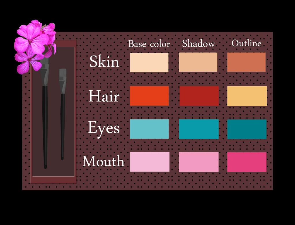 Bloom - Color Palette by Efyme