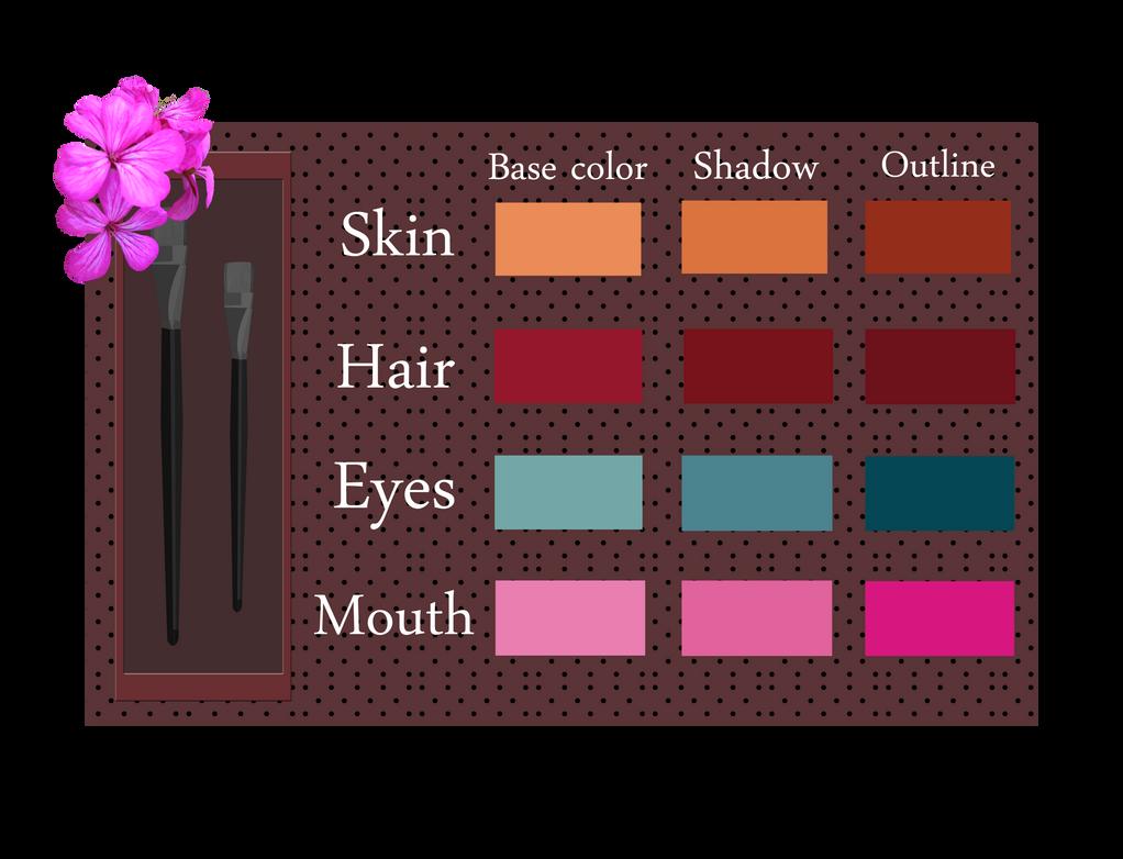 Layla - Color Palette by Efyme