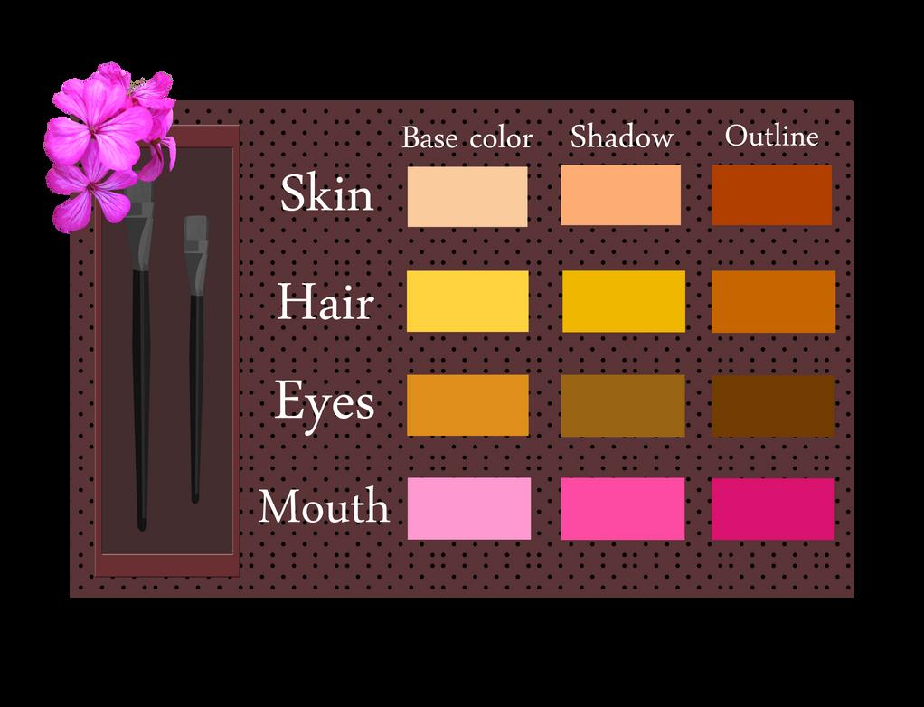 Stella - Color Palette by Efyme