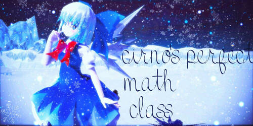 [Video] Cirno's Perfect Math Class by Fluffy-mouses