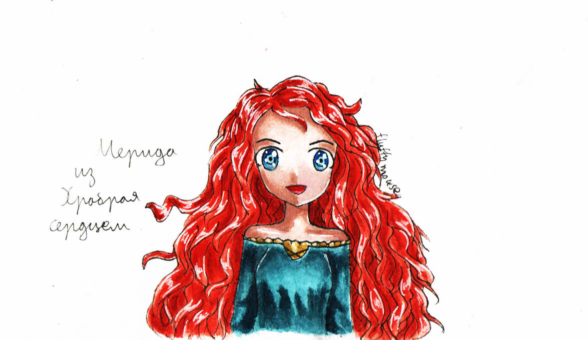 Merida by Fluffy-mouses