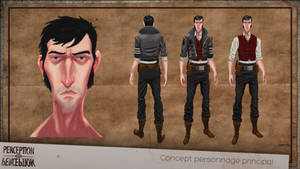 Perception - Main Character concept