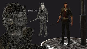 Perception - Main character real time render