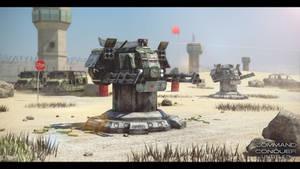 3D Gatling Gun Turret